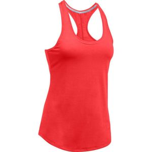Dámske funkčné tielko Under Armour Threadborne Streaker Tank Red - S