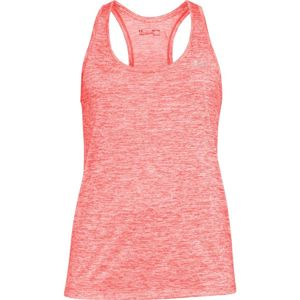 Dámske tielko Under Armour Tech Tank - Twist After Burn /  / Metallic Silver - S