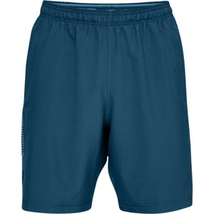 Pánske kraťasy Under Armour Woven Graphic Short Petrol Blue - L